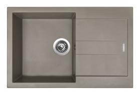 Granitový dřez Sinks AMANDA 780 Truffle TLAM78050054