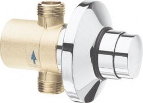 Silfra QUIK samouzavírací podomítkový ventil pro urinal, chrom QK11051