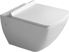 Isvea PURITY závěsná WC mísa, 35x55, 5cm, bílá 10PL02007