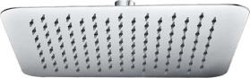 Mereo Talířová sprcha horní, Slim, hranatá 200 x 200 mm, s kloubem, nerez CB485F