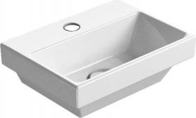 GSI NORM umývátko s otvorem, 35x12x26 cm, bílá ExtraGlaze 8650111