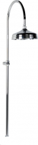 Reitano Rubinetteria ANTEA sprchový sloup k napojení na baterii, hlavová sprcha, chrom SET011