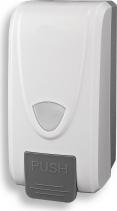 Novaservis Zásobník na tekuté mýdlo 1000 ml, bílý 69083,1