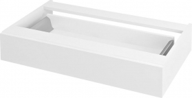 Sapho AVICE 1x zásuvka závěsná 80x15x48cm, bílá (AV800) AV800-3030
