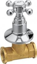 Reitano Rubinetteria ANTEA podomítkový ventil, teplá, chrom 3051H