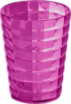 Aqualine GLADY sklenka na postavení, růžová GL9876
