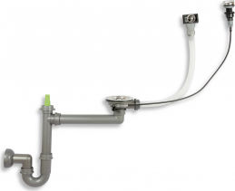 Novaservis Sifon s automatickou výpustí pro granitový dřez 01400-1 NSG1