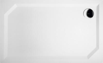 Gelco SARA sprchová vanička z litého mramoru, obdélník 120x75x3, 5 cm, hladká HS12075