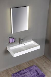 Sapho ALIX zrcadlo s LED osvětlením, 45x60x5cm AL955