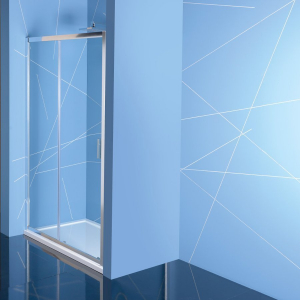 Polysan EASY LINE sprchové dveře 1500mm, čiré sklo EL1515
