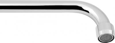 Aqualine Výtoková hubice tvar U, prům. 18mm, L 278mm, 3/4', chrom 15U250