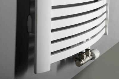 Aqualine STING Otopné těleso 650x1741 mm, středové připojení, 968 W, bílá NG617