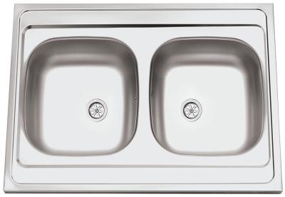 Nerezový dřez Sinks CLP-A 800 DUO M 0,5mm matný RDCPM80060025M