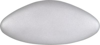 Polysan STAR podhlavník do vany 32x15cm, stříbrná 250072