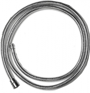 Reitano Rubinetteria Náhradní hadice k bateriím Reitano na okraj vany, 175 cm, chrom FLE14CR