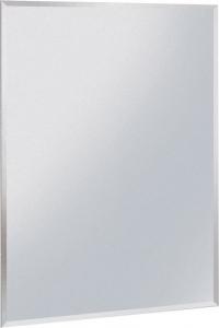 Aqualine Zrcadlo 60x70cm, s fazetou, bez úchytu 22471