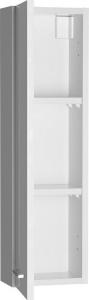 Aqualine ZOJA horní skříňka k zrcadlu Korin, 20x70x14cm, bílá 45462