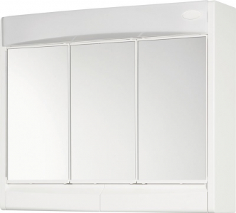 Aqualine SAPHIR galerka 60x51x18cm, zářivka 15W, G13, bílá plast 591322