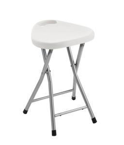 Aqualine Koupelnová stolička 30x46, 5x29, 3 cm, bílá CO75
