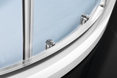 Polysan EASY LINE čtvrtkruhová sprchová zástěna 1000x800mm, L/R, čiré sklo EL2915