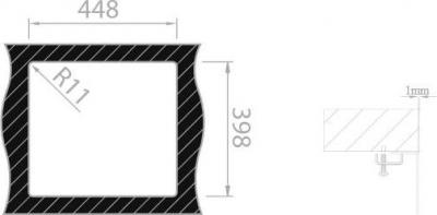 Nerezový dřez Sinks BOX 500 MP68147