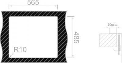 Nerezový dřez Sinks BOXER 585.1 MP68152