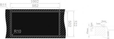 Nerezový dřez Sinks XERON 1000.9 MP68161