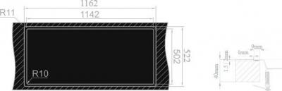 Nerezový dřez Sinks XERON 1160 1,2mm MP68166