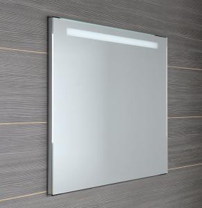 Aqualine Zrcadlo s LED osvětlením 100x80cm, kolíbkový vypínač ATH54