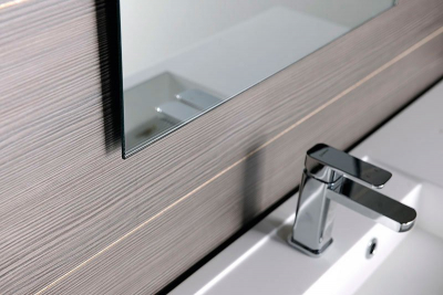 Aqualine Zrcadlo 40x60cm, obdélník, bez závěsu 22491