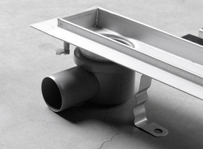 Aqualine VENTO nerezový sprchový kanálek s roštem, 860x140x85 mm 2708-90