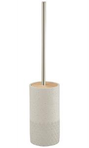 Gedy AFRODITE WC štětka na postavení, cement 4933
