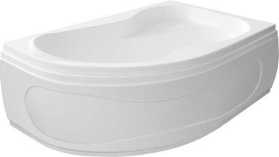 Aqualine CIDLINA 160 vana 160x105x45cm bez nožiček, pravá, bílá G3614