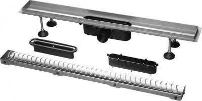 Polysan FLUE nerezový sprchový kanálek s roštem, 930x115x82mm 74579