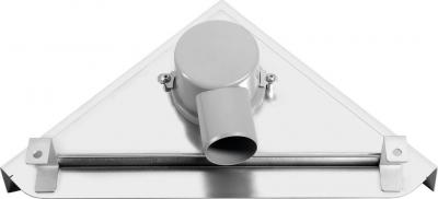 Sapho TRIANGL nerezový sprchový kanálek s roštem, do rohu ke zdi, 293x293mm FP790