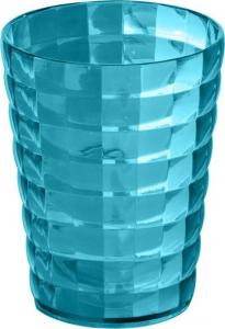 Aqualine GLADY sklenka na postavení, tyrkysová GL9892