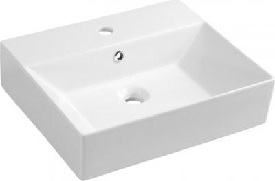 Aqualine SISTEMA keramické umyvadlo 50x42cm, bílá 10SF50051