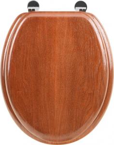 Aqualine AQUALINE WC sedátko, třešeň 1705-12