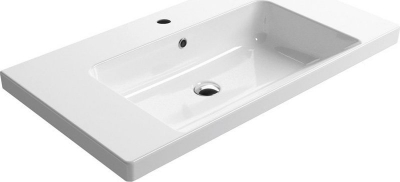 GSI NORM keramické umyvadlo 90x18x50 cm, bílá ExtraGlaze 8688111