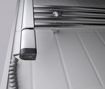 Sapho ONE D topná tyč s termostatem, 200 W, levá, chrom ONE-DL-C-200