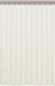 Aqualine Závěs 180x180cm, vinyl, krémová 0201003 K