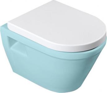 Aqualine DONA WC sedátko, Soft Close, bílá FD121