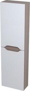 Sapho WAVE skříňka vysoká 40x140x20cm, levá/pravá, bílá/mali wenge WA248LP