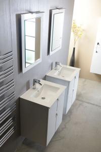 Sapho SLIM keramické umyvadlo 60x46cm, nábytkové 1601-60