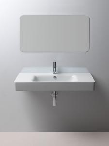 GSI SAND umyvadlo 100x50 cm s odkladnými plochami, bílá ExtraGlaze 9051111