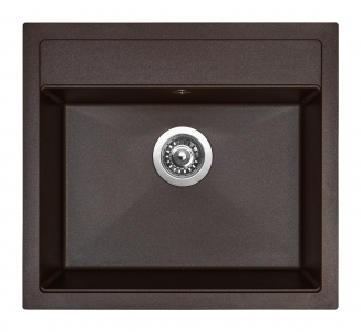 Granitový dřez Sinks SOLO 560 Marone ACRSO56051093