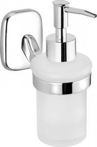 Aqualine RUMBA dávkovač mýdla 160ml, mléčné sklo RB119