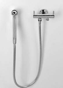 Sapho Dvojventil s bidetovou sprchou s napojením WC nádrže, chrom 1209-04