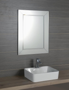 Sapho ARAK zrcadlo s lištami a fazetou 60x80cm AR060