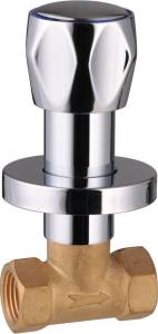 Aqualine Podomítkový ventil 1/2', chrom VP621